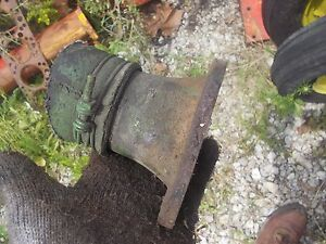 John Deere B Rax Tractor Jd Lower Engine Motor Steel Water Tube To Radiator