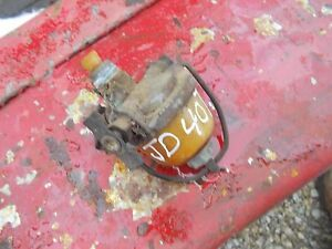 John Deere 40t 40 T Tractor Gas Tank Sediment Bowl Assembly