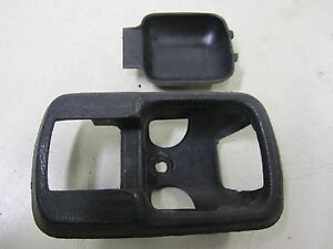 Porsche 924 82 1982 Door Handle Bezel Black Driver Or Passenger Oe 171837235