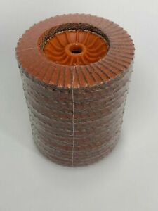 Walter 06a452 Enduro flex Turbo Abrasive Flap Disc Spin On pack Of 10 36 60