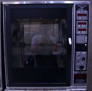 Henny Penny Scr 6 Electric Digital Commercial Chicken Rotisserie Oven Barbecue 2