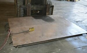 2000 Lb Southworth backsaver Ls2 36 Hydraulic Scissor Lift Table 28382
