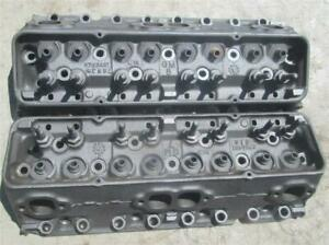 3782461 Original Gm Camel Hump Cylinder Heads Small Block Chevy 2 02 1 60 Sweet