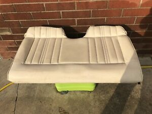 1977 Ford Mustang Complete Rear Seat Assembly White