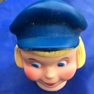 Vintage Dutch Boy Paints Style Puppet Doll Head - Outstanding Condition!