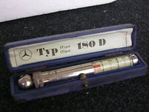 Mercedes Benz Tire Gauge Mb Tyre Pressure Accessory Tool Box Messko Hauser 180 D