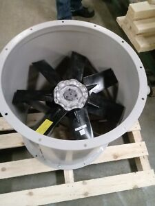 24 Dia Direct Drive Clean Air Exhaust Fan Single Phase 8940 Cfm