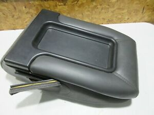 1999 2006 Chevy Silverado Gmc Sierra Jumpseat Center Console Storage Black Char