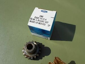 1980 1982 Ford Mustang 4 Speed Transmission Idler Gear Nos Fomoco D0zz 7141 A