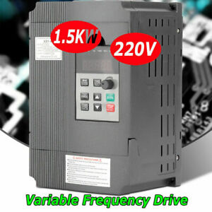 220v 2hp 1 5kw Variable Frequency Drive Inverter Cnc Vfd Vsd Single To 2 Phase