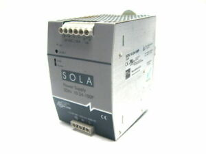 Sola Sdn 10 24 100p Power Supply 115 230 Vac 24 Vdc Output