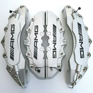 Amg Disc Brake Caliper Cover Kit For Mercedes Benz 11 F 9 R Ml350 500 Glk300 C63