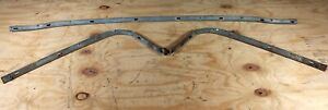 1969 1970 Ford Mustang Mercury Cougar Convertible Top All 3 Tack Rails Rail