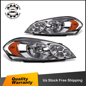 For 06 13 Chevy Impala 07 Monte Carlo Headlight Headlamps Replacement Left right