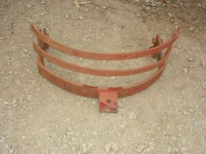 Vintage Ford 8n 9n 2n Tractor Front Grill Guard Bumper Hitch Ferguson To