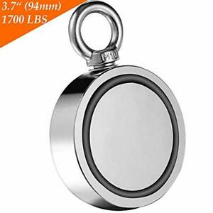 Wukong Fishing Magnet Double Sided Neodymium Magnet With Eyebolt Combined 1700