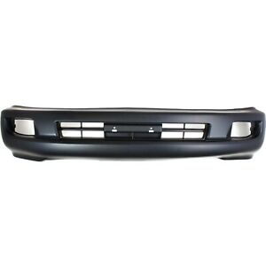 Front Bumper Cover For 2003 2007 Toyota Land Cruiser W Fog Lamp Holes Primed