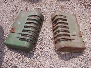 John Deere B Styled Tractor Orgnl Jd Front Nose Cone Grill Hood Panel Panels B10