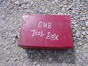 International Cub Lo Low Boy Lb Tractor Ihc Tool Box For Deluxe Seat Frame