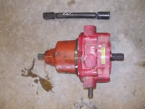 International 504 D Utility Tractor Complete Ih Pto Power Take Off Shaft Unit