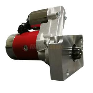 New 3hp High Torque Mini Starter For Chevrolet Sbc Bbc Red Tooth 305 350 396 327