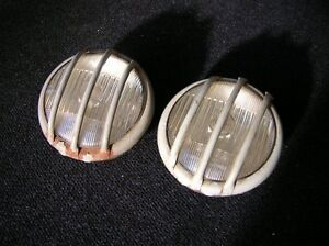 Stone Guards Rally Lamps Lights Bosch Rallye Vw Bug Cox Vintage