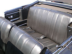 1966 Chevelle Hardtop Deluxe Bucket Seat Interior Kit Black