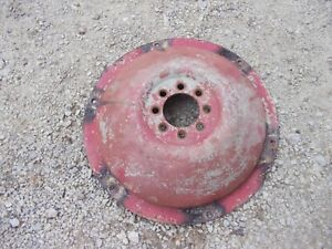 Ford 641 600 Tractor Rear Dish Wheel Center Holds Rim Tire To Tractor Hub