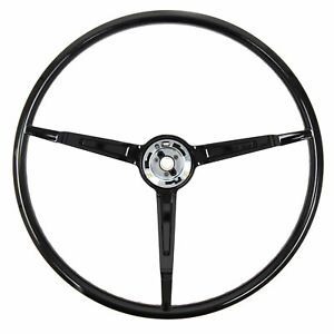 1967 Ford Mustang Steering Wheel Only Standard Black