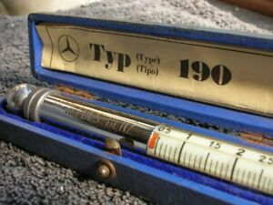 Mercedes 190 Messko Hauser Tire Gauge Vintage Car Tool Accessory Mb S Sl