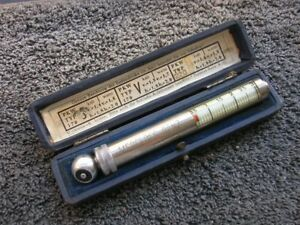 Mercedes Messko Hauser Tire Gauge Vintage Car Tool Accessory Mb S Sl 170 220