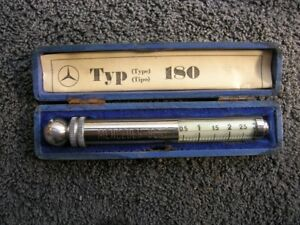 Mercedes Messko Hauser Tire Gauge Vintage Car Tool Accessory Mb S Sl Typ 180