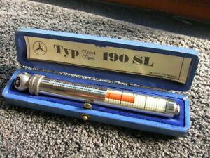 190 Sl Mercedes Messko Hauser Tire Gauge Vintage Car Tool Accessory Mb Beauty