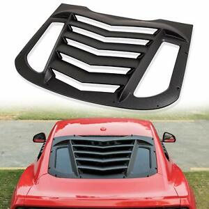 Rear Window Louver Sun Shade Cover In Gt Lambo Style For Ford Mustang 2015 2020