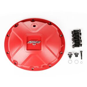 Alloy Usa Dana 35 Differential Cover Fits Jeep Xj Cherokee Mj Zj 84 01 Red Alum