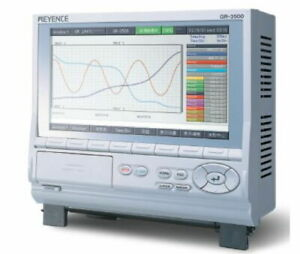 Keyence High Function Recorder Gr 3500 Analog Voltage And Temperature Data