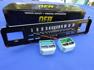 New 1969 74 Chevy Nova W O Console Gauges 120 Mph Speedometer Oer Parts 6496615