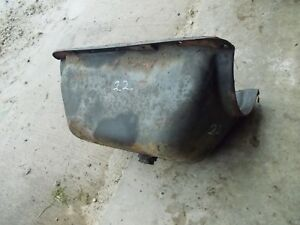 Massey Harris 22 Tractor Mh Engine Motor Oil Pan 22