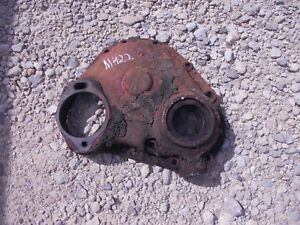 Massey Harris 22 Tractor Mh Engine Motor Front Cover Panel 22