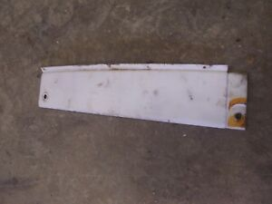International 504 Diesel Utility Tractor Ih White Right Rear Hood Tank Sid Panel