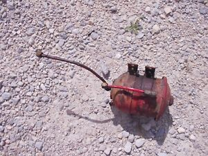 Massey Harris 22 Tractor Mh Engine Motor Oil Filter Canister Lines