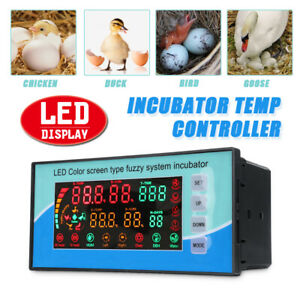 220v Digital Led Automatic Incubator Temperature Controller Thermostat