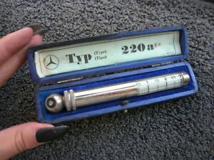 Mercedes Messko Hauser Tire Gauge Vintage Car Tool Accessory Mb Typ 220 A
