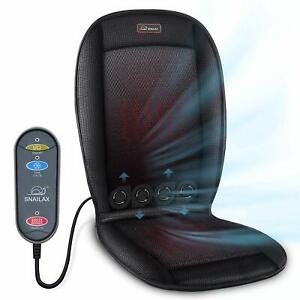 Cooling Car Seat Cushion Heated Seat Cushion With 2 Levels 2 Heating Pads