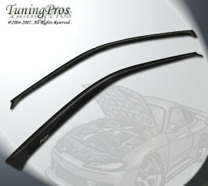 For 2000 2005 00 04 05 Toyota Celica Wind Deflector Window Visor Sun Guard 2pc