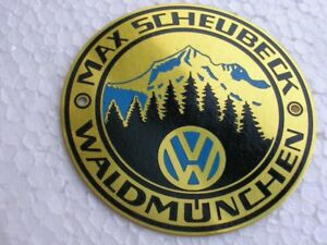 Vw Dealer Car Badge Volkswagen Oval Split Kdf Cox Bug Beetle Karmann Heb T1 Bus