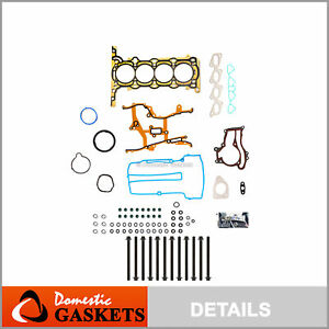 Head Gasket Bolts Set Fits 11 16 Buick Encorde Chevrolet Cruze Sonic Trax 1 4l