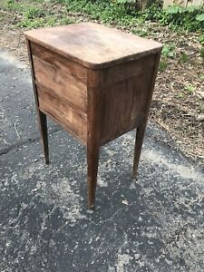 Antique The Caswell Runyon Company Perfect Sewing Cabinets