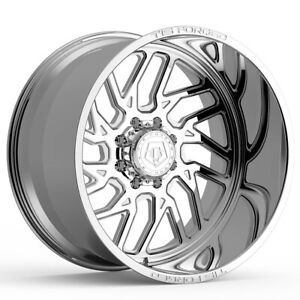 4 new 22 Inch Tis F51p1 Forged 22x12 8x180 51mm Polished Wheels Rims
