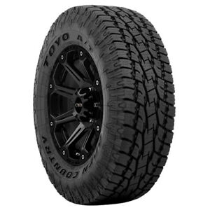 2 p245 60r20 Toyo Open Country A t Ii 107t B 4 Ply Black Tires
